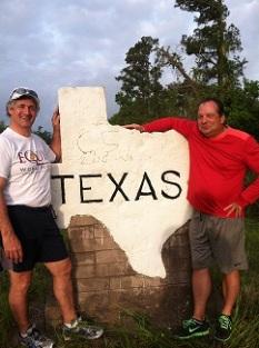 Crossing into TX