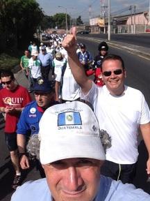 walk in Guatemala